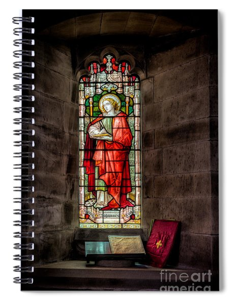Stained Glass Window 2 Spiral Notebook