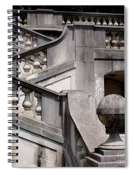 Stairway At Winterthur Spiral Notebook