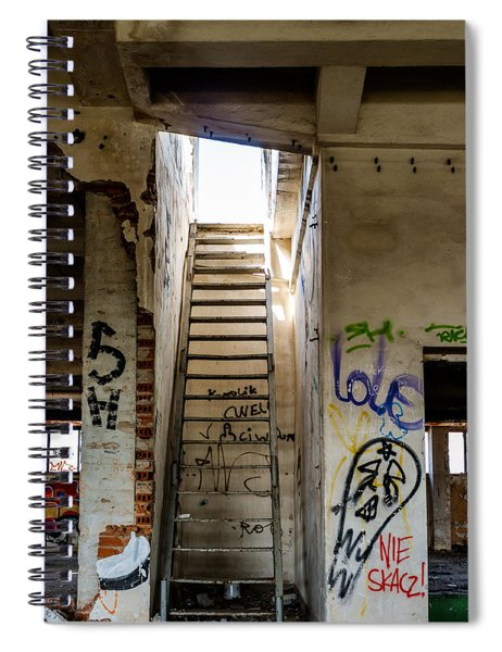 Stairway To Heaven? I Don't Think So... Spiral Notebook