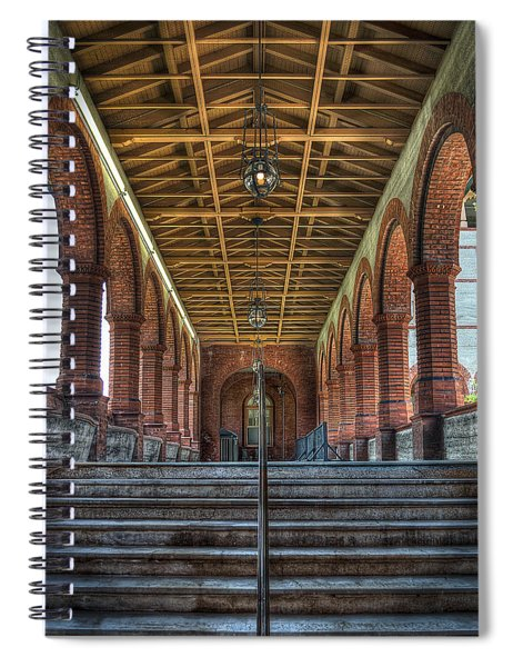 Stairway To History Spiral Notebook