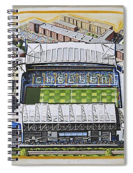 Stamford Bridge - Chelsea Spiral Notebook