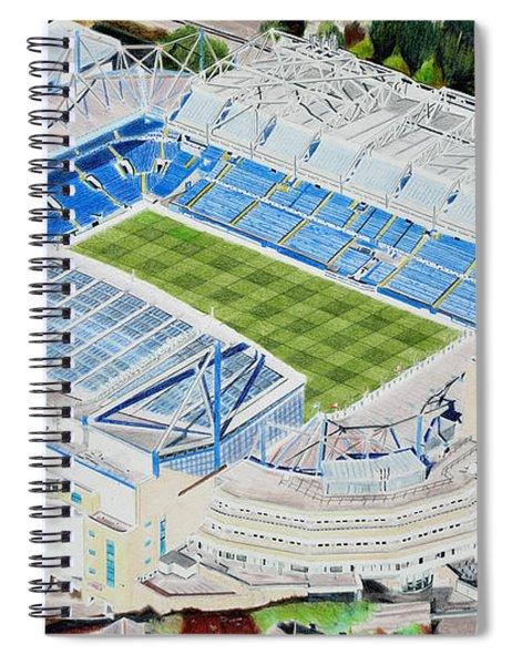 Stamford Bridge Stadia Art - Chelsea Fc Spiral Notebook
