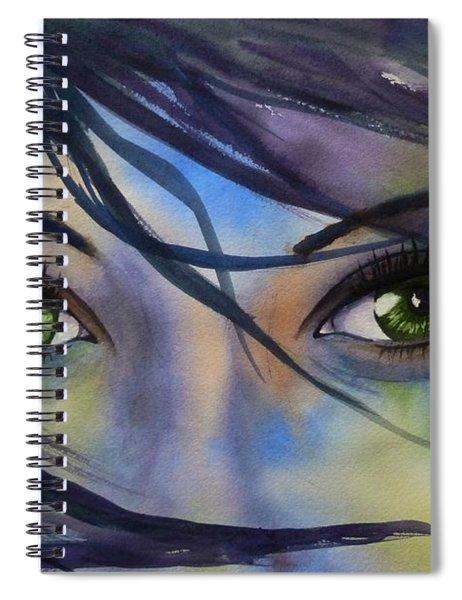 Wind Blown Spiral Notebook