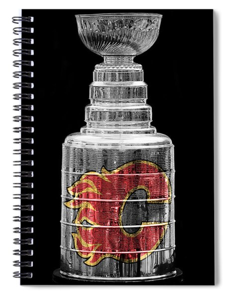 Stanley Cup Calgary Spiral Notebook