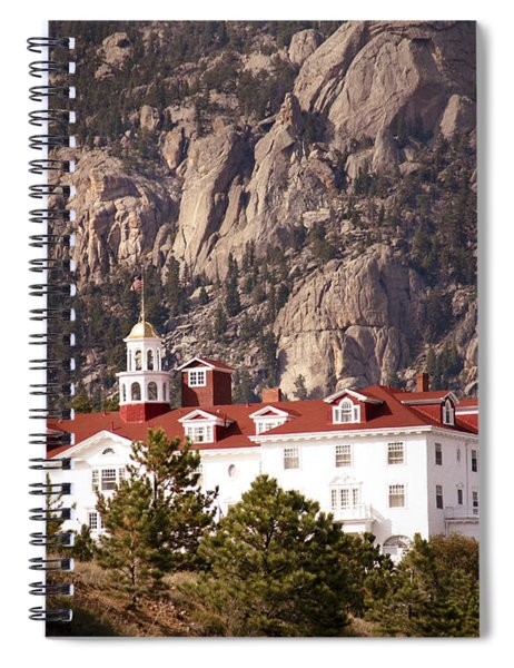 Stanley Hotel Estes Park Spiral Notebook