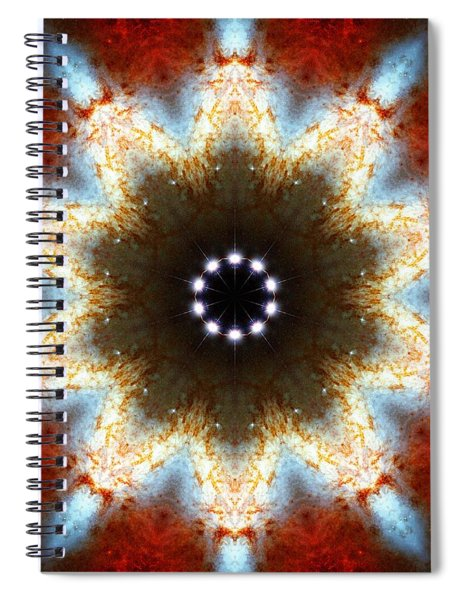 Starburst Galaxy M82 I Spiral Notebook