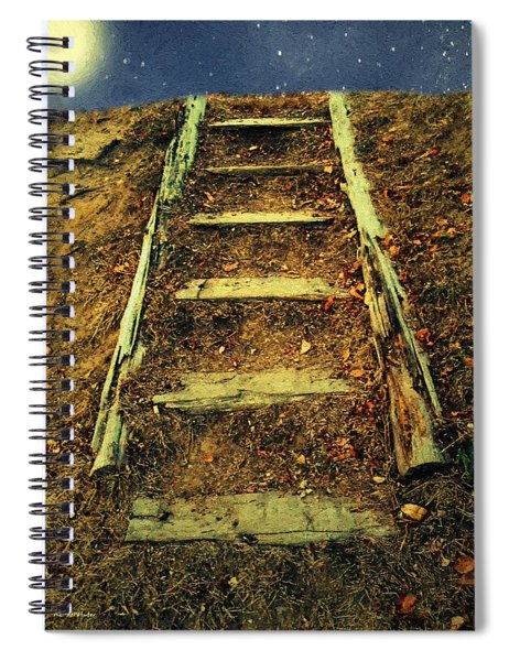 Starclimb Spiral Notebook