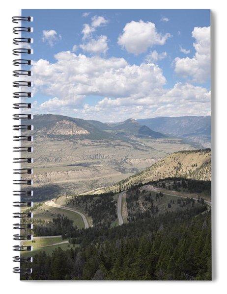 Starlight Basin Spiral Notebook