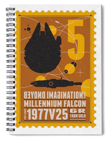 Starschips 05-poststamp -star Wars Spiral Notebook