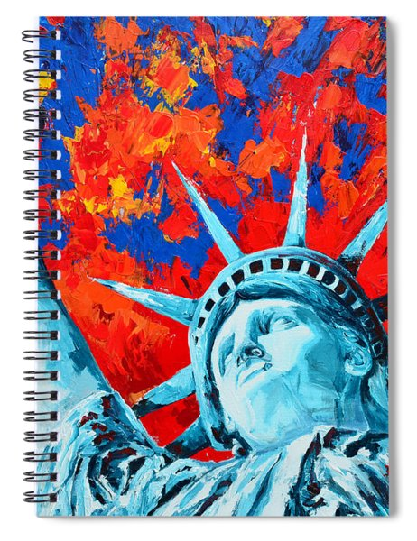 Statue Of Liberty - Lady Liberty Spiral Notebook