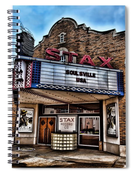 Stax Records Spiral Notebook