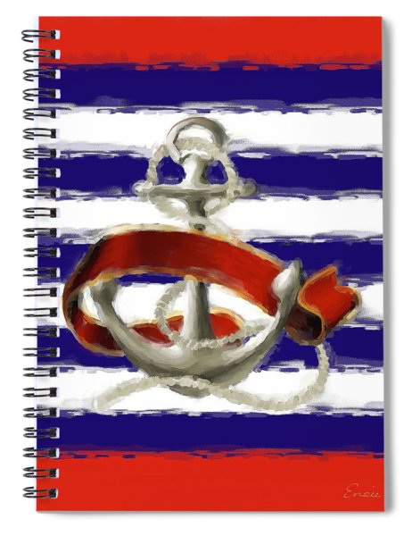 Stay Anchored Spiral Notebook