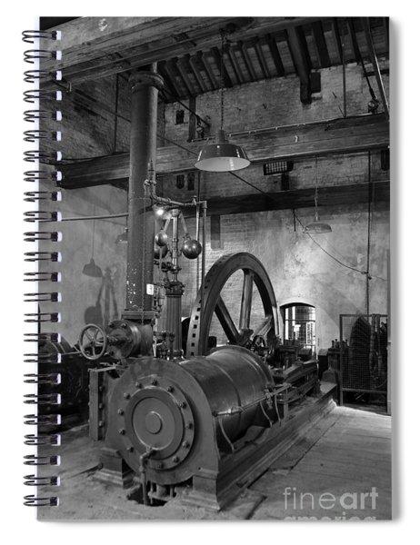 Steam Engine At Locke's Distillery Spiral Notebook