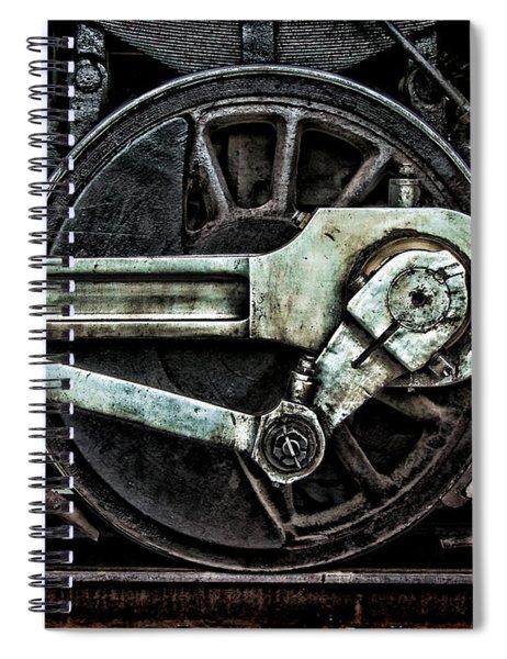 Steam Power Spiral Notebook