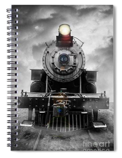 Steam Train Dream Spiral Notebook