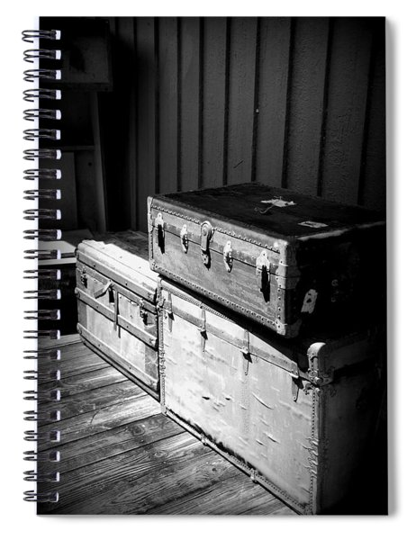 Steamer Trunks Spiral Notebook