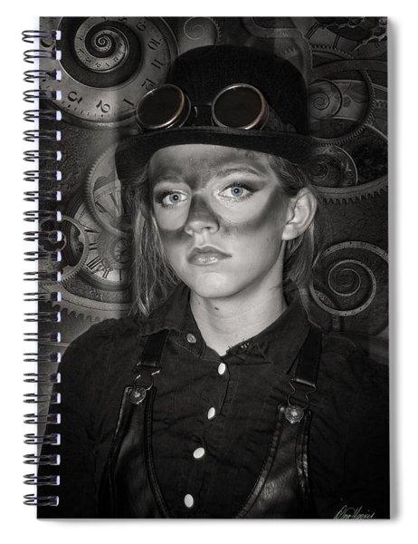 Steampunk Princess Spiral Notebook