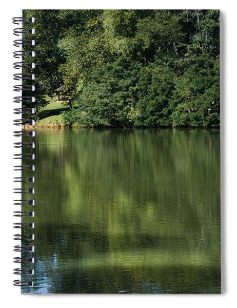 Steele Creek Park Reflections Spiral Notebook