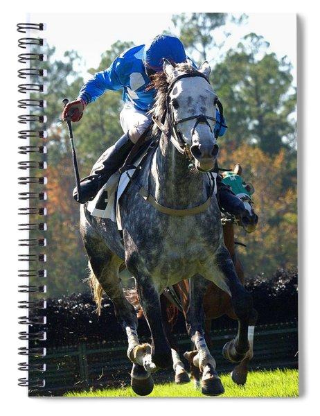 Steeplechase Spiral Notebook