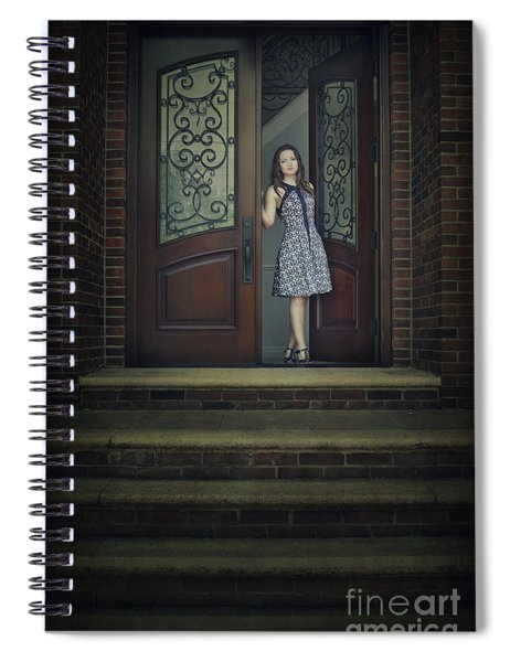 Step Into My Dream Spiral Notebook