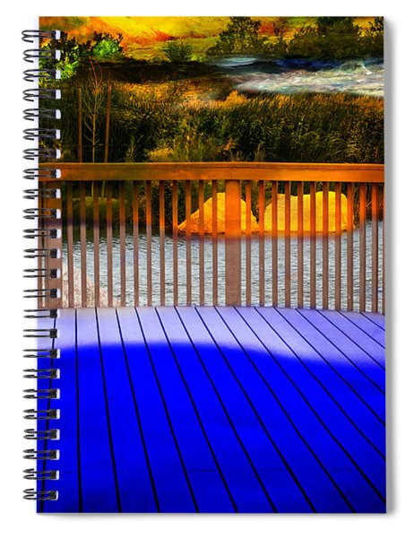 Step Out Spiral Notebook
