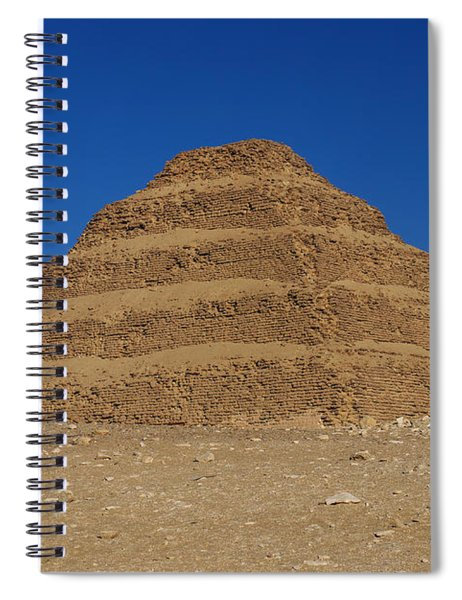 Step Pyramid Of King Djoser At Saqqara  Spiral Notebook