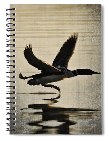 Stepping Up Spiral Notebook