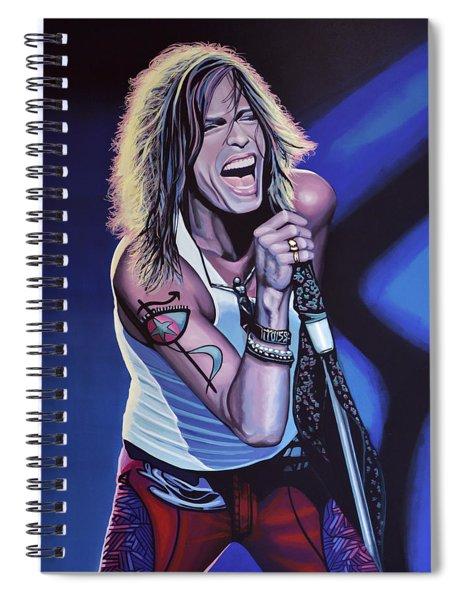 Steven Tyler 3 Spiral Notebook