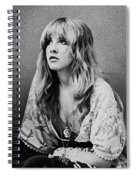 Stevie Nicks Spiral Notebook