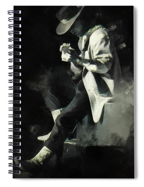 Stevie Ray Spiral Notebook