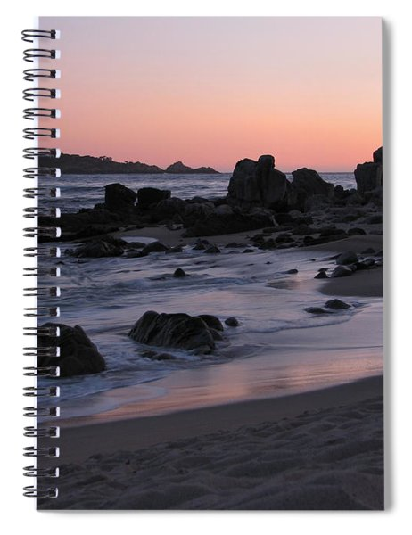 Stewart's Cove At Sunset Spiral Notebook