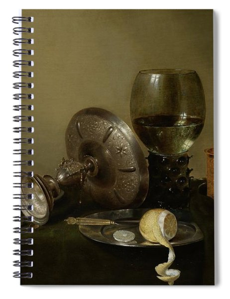 Still Life With A Gilt Cup Spiral Notebook