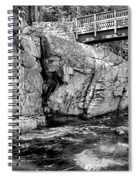 Stillness And Motion Spiral Notebook