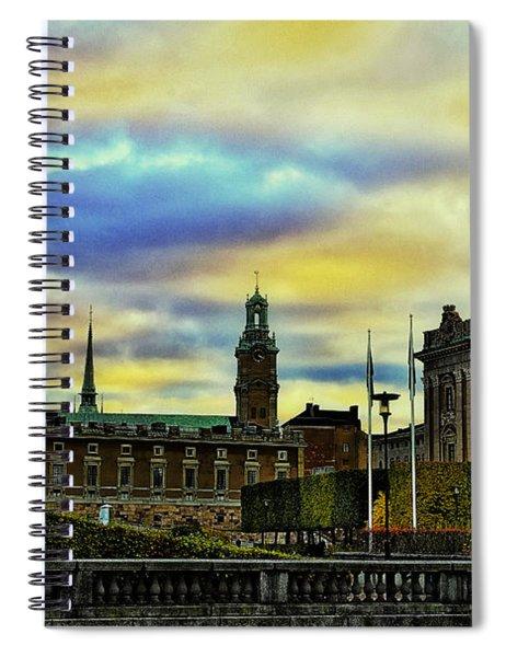 Stockholm II Spiral Notebook