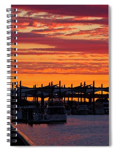 Stockton Sunset Spiral Notebook