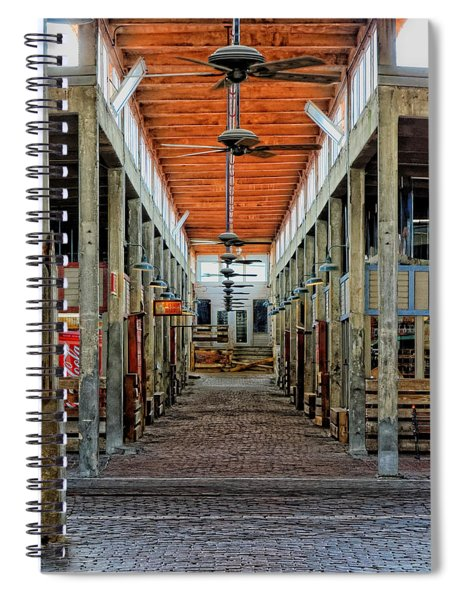 Stockyard Mall Spiral Notebook