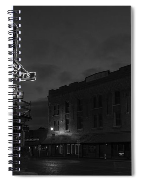 Stockyards Main And Exchange Bw Spiral Notebook