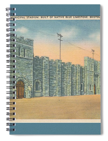 Stone Castle Bristol Tn Built By Wpa Spiral Notebook