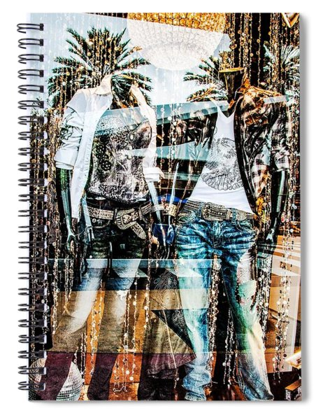 Store Window Display Spiral Notebook