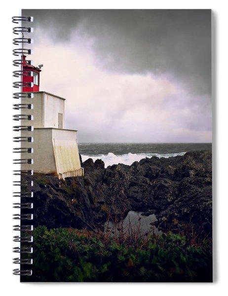 Storm Approaching Spiral Notebook