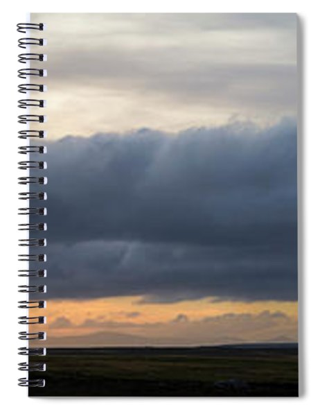 Storm Clouds Over First Mountain Spiral Notebook