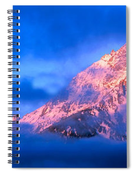 Storm Clouds Over Mountains, Cathedral Spiral Notebook