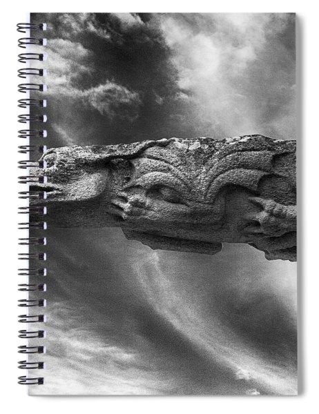Storm Dragon Spiral Notebook