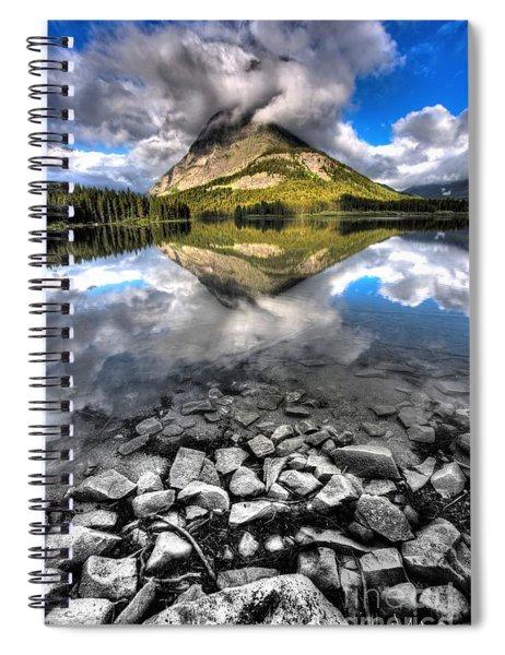 Storm Mountain II Spiral Notebook
