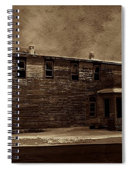 Storm Of 1888 Spiral Notebook