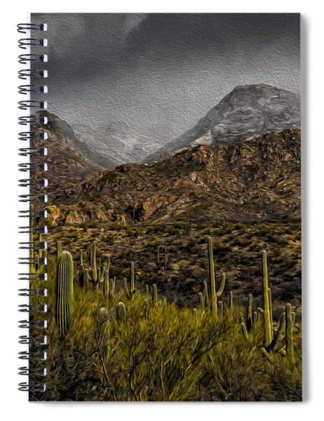Storm Over Catalinas Aso Spiral Notebook