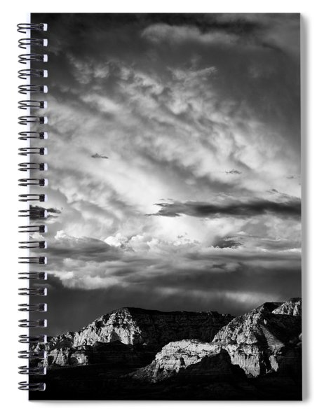 Storm Over Sedona Spiral Notebook