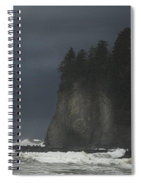 Storm At Lapush Washington State Spiral Notebook