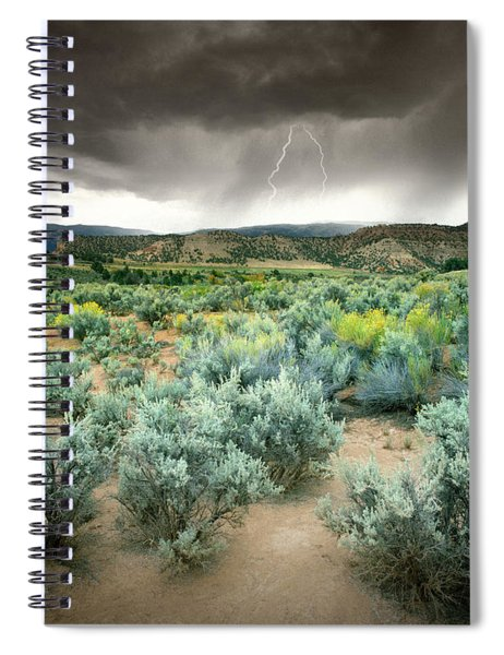 Storms Never Last Spiral Notebook