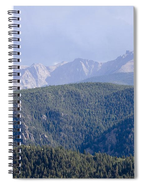 Stormy Pikes Peak Spiral Notebook
